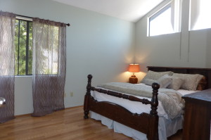 Bedroom - staged to sell