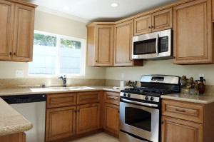 Updated Stainless Steel Appliances