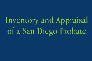 Inventory and Appraisal of Estate