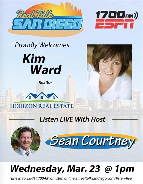 Realtor Kim Ward on Real Talk San Diego