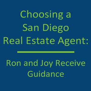 Choosing a San Diego Real Estate Agent