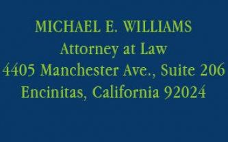 Attorney Michael E. Williams
